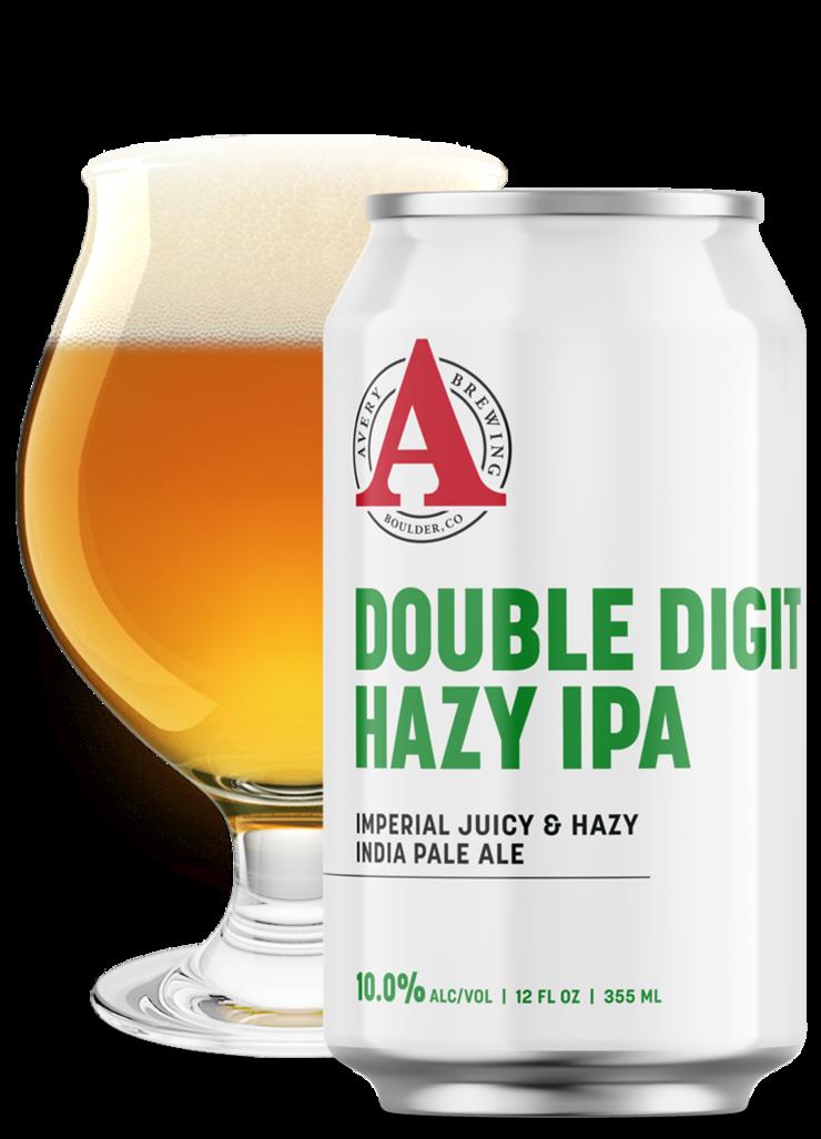 Double Digit Hazy IPA   Avery Brewing Co